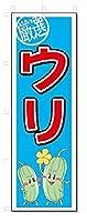 のぼり のぼり旗 ウリ (W600×H1800)