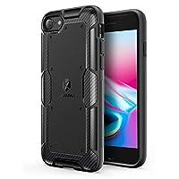 【iPhone 8 / 7 用】Anker KARAPAX Shield 保護ケース ワイヤレス充電対応(ブラック)