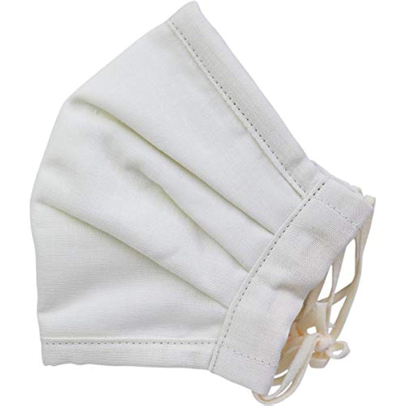不条理トリッキー教育者さらふわマスクダイヤドビー 敏感肌用 アイボリー 少し大きめサイズ 1枚入×5個セット