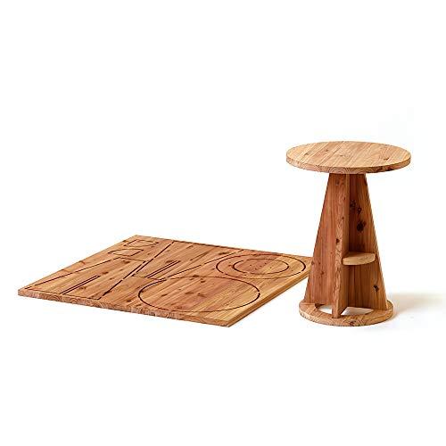 DIY 自分で作る木の家具キット 木it キット ラウンドテーブル NHK おはよう日本で紹介されました