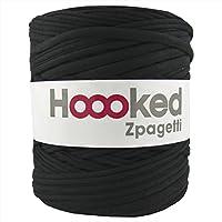 DMC Hoooked Zpagetti フックドゥ ズパゲッティ リサイクルヤーン 超極太 (ロットにより色の変更あり) #Black ブラック 約 120m DMC800