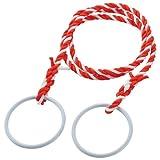 三友産業 リング付 標識ロープ 紅白 HR-2168