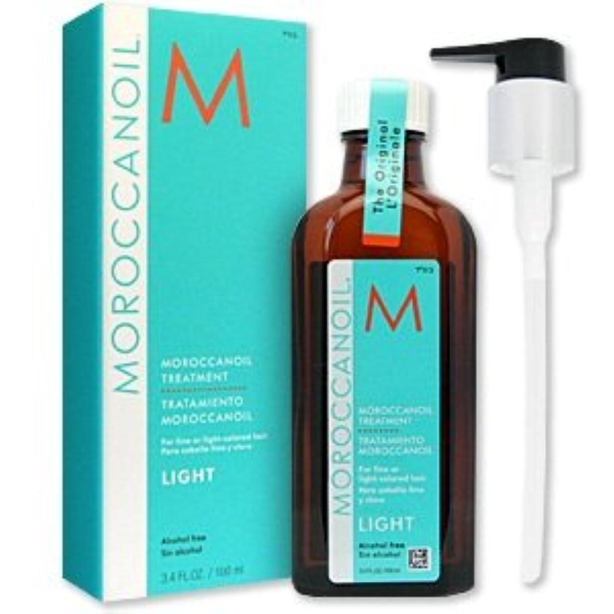 ミルクイノセンス称賛モロッカンオイル モロッカンオイル トリートメント ライト 125ml ポンプ付き