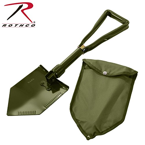 Rothco(ロスコ) 三つ折式シャベル 収納ケース付(Tri-Fold Shovel w/Cover) 829 [並行輸入品]
