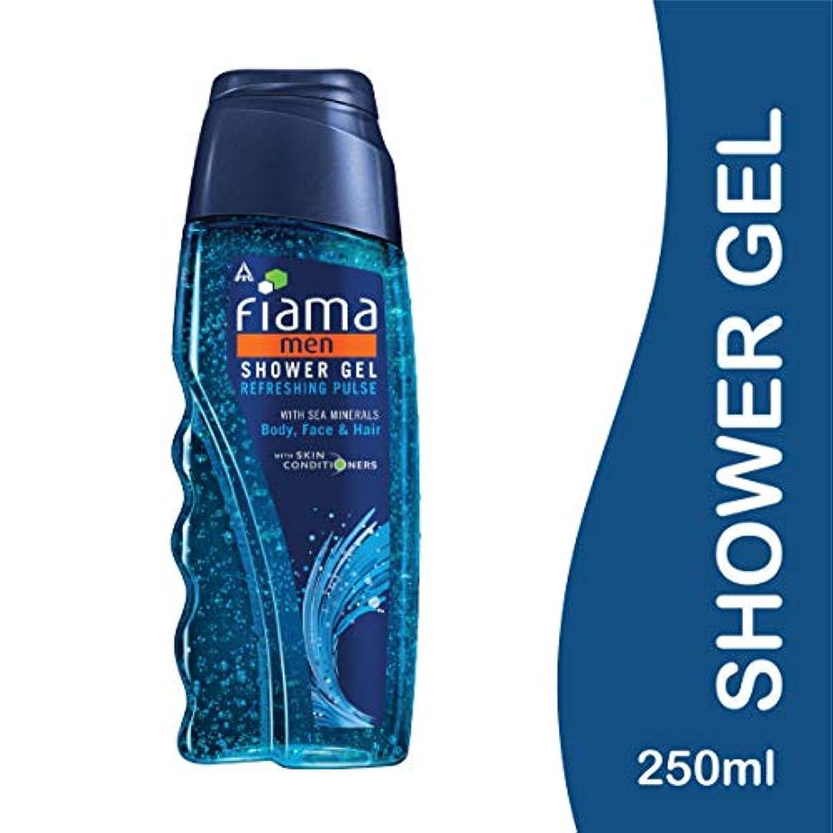 冗長マイク二年生Fiama Men Refreshing Pulse Shower Gel, 250ml