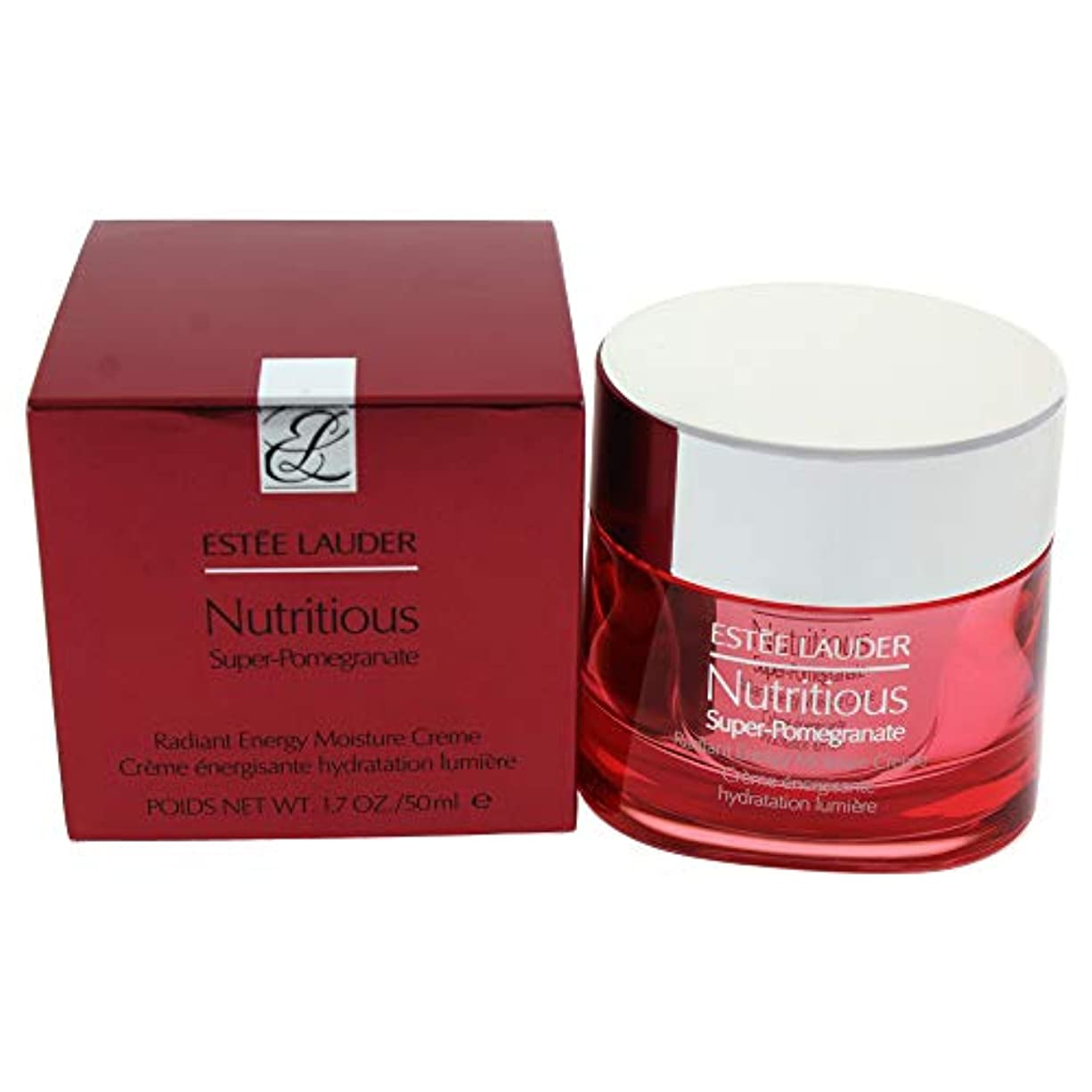 ベーコン前提慢エスティローダー Nutritious Super-Pomegranate Radiant Energy Moisture Creme 50ml/1.7oz並行輸入品