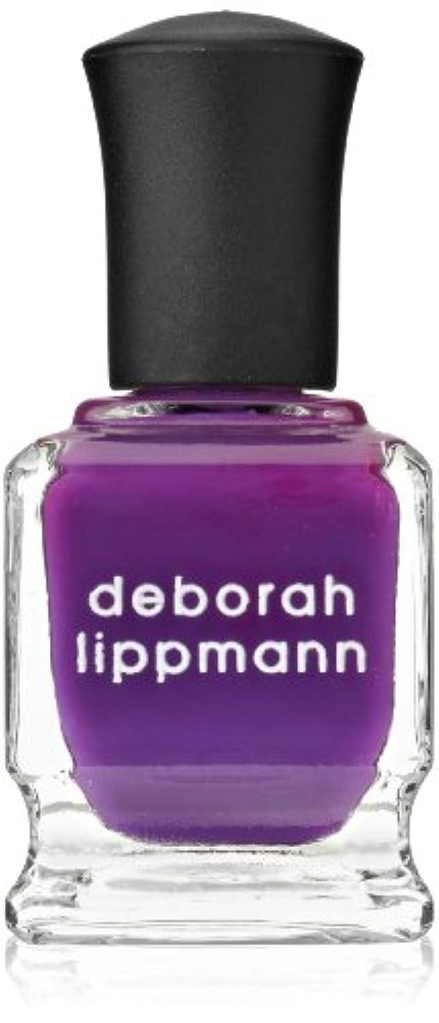 テクニカルスコア戦士[Deborah Lippmann] [ デボラリップマン] コール ミーイレスポンジブル CALL ME IRRESPONSIBLE 鮮やかなパープル。 発色がよく個性が引き出せるマニキュアです ガーリーでオシャレなカラー...