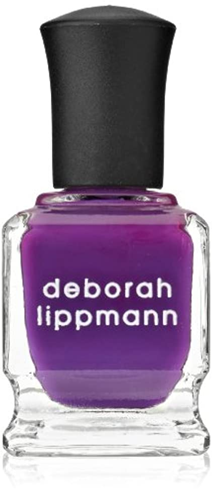 ステージ慣れている欠伸[Deborah Lippmann] [ デボラリップマン] コール ミーイレスポンジブル CALL ME IRRESPONSIBLE 鮮やかなパープル。 発色がよく個性が引き出せるマニキュアです ガーリーでオシャレなカラー...