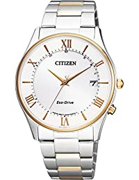 [シチズン]腕時計 CITIZEN COLLECTION シチズンコレクション エコ・ドライブ電波時計 薄型シリーズ ペアモデル AS1062-59A メンズ