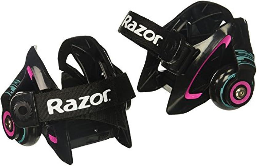 タヒチ冷酷な電球Razor Jetts Heel Wheels - Purple 141[並行輸入]