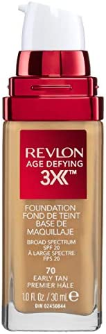 Revlon Age Defying™ 3X Foundation Early Tan, 30ml