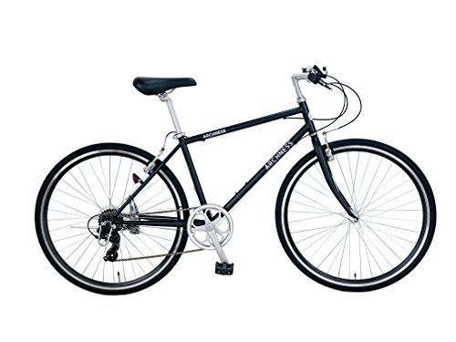 ARCHNESS 7007-A 700C クロスバイク 7段変速 (ブラック)