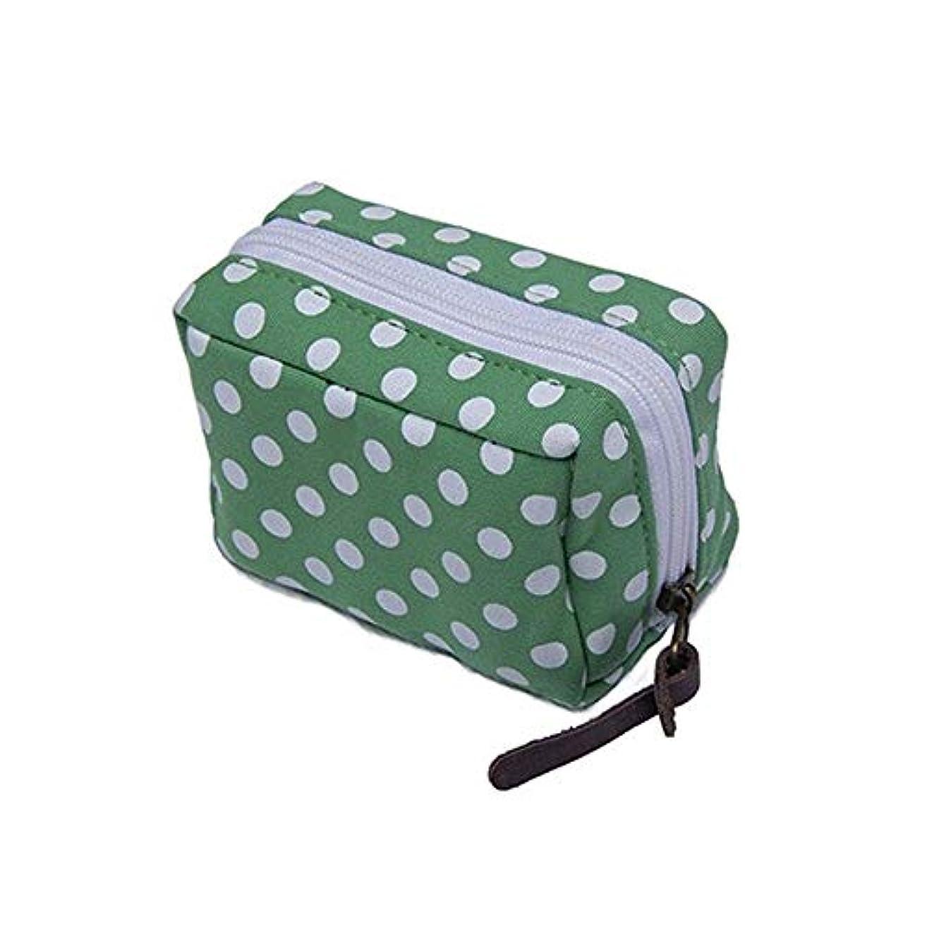 お嬢楽観ディスコ精油ケース エッセンシャルオイル収納ケース旅行キャリングケースは、10ミリリットル、15ミリリットルバイアルウェーブポイントがオーガナイザーバッグ付きリストレットを形6本のボトルを保持します 携帯便利 (色 : 緑, サイズ : 11.5X5.8CM)