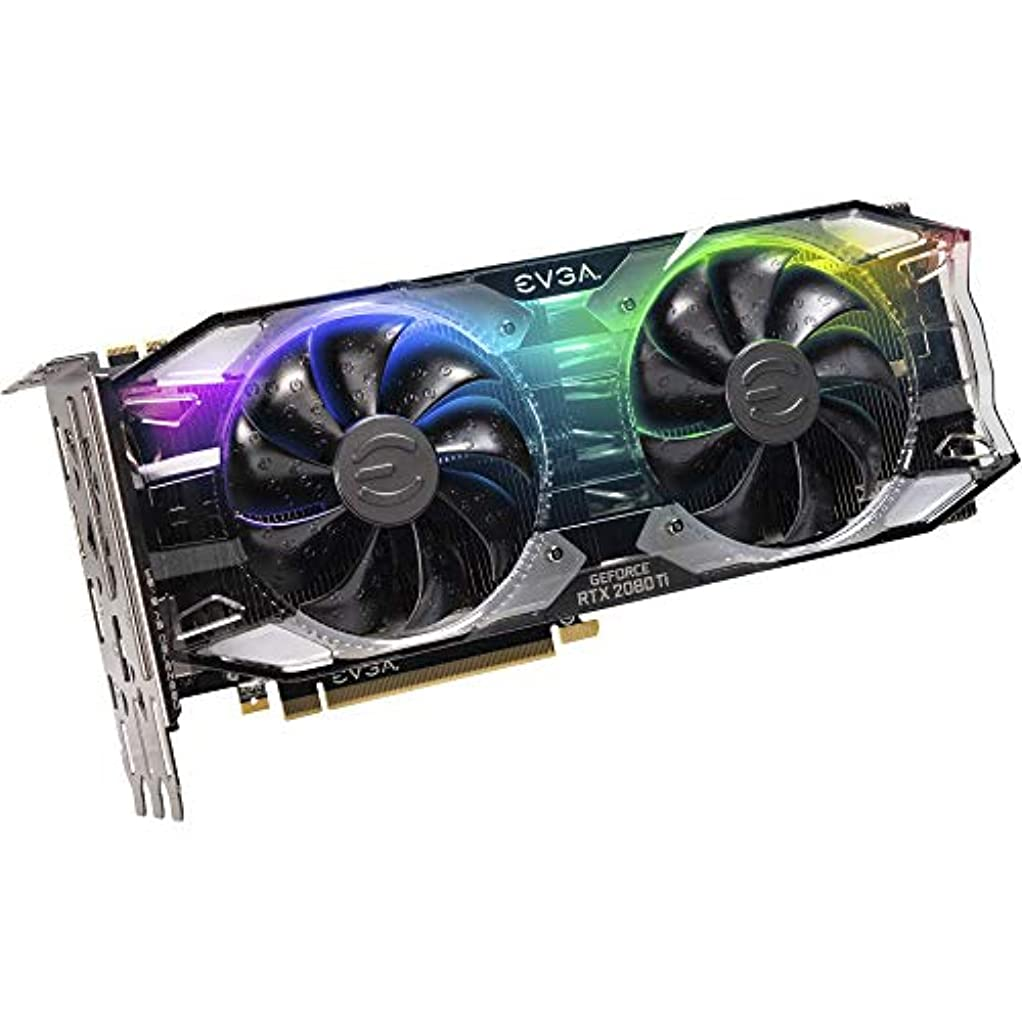 版検査官モットーEVGA GeForce RTX 2080 Ti XC ULTRA GAMING Graphics Card [並行輸入品]