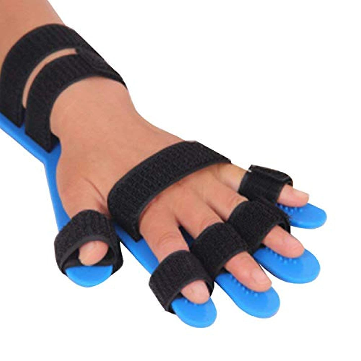 グリース期限切れインフレーション指の添え木は、リハビリテーション機器/手首訓練用機器/サポートフィンガーフラクチャー/創傷術後ケア/エクササイズフィンガースプリント/フィンガーサポート/男性と女性の一般的な周りを指します
