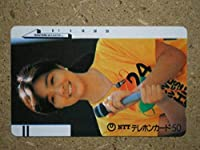 kikut菊池桃子 24時間テレビ テレカ