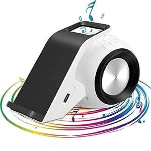 Mosmee Bluetoothスピーカー pcスピーカー Qi急速ワイヤレス充電機能搭載  speaker 重低音 高音質 USB出力ポート付き