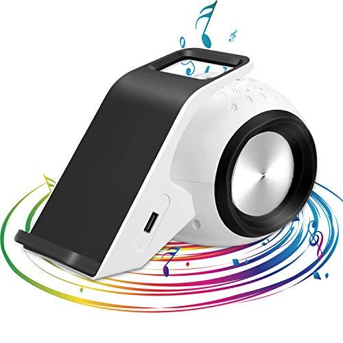 Mosmee Bluetoothスピーカー Qi急速ワイヤレス充電機能搭載 ブックシェルフスピーカー 高音質 USB出力ポート付き
