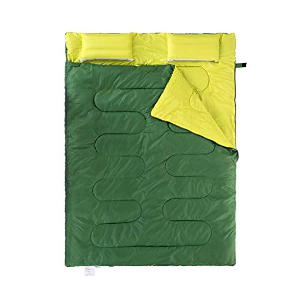 ラジウム省略溶融寝袋アウトドアキャンプ屋内ランチブレイクホテルダーティダブルウォームポータブル(5°C-10°Cに最適) (色 : B)