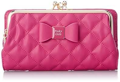 [ピンキーガールズ] Pinky Girls PG/キルティングW口金長財布 6205511 PN (ピンク)