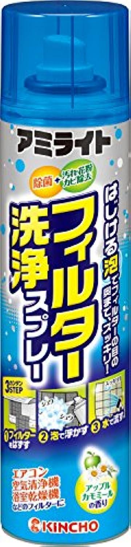 アミライト フィルター洗浄スプレー 除菌 花粉?カビ除去 180ml