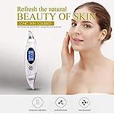 しわ除去Rf美容デバイス、顔のクレンジング、リフティング&引き締めデバイス、ディープクレンジング振動美容ツールをきつく締めるフェイスリフティングスキン