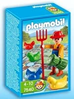 Playmobil 7540 Farmer and Farm Game by ToyCenter [並行輸入品]