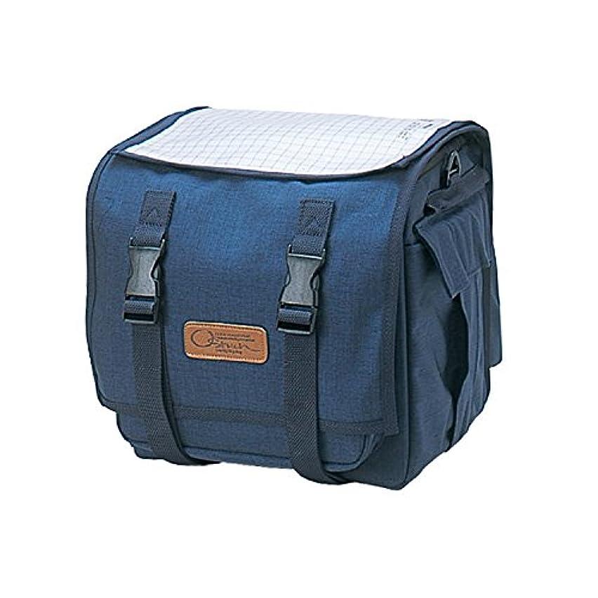遮る省略する必須OSTRICH(オーストリッチ) フロントバッグ [F-702] ネイビーブルー