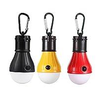 LEDランタン Humilovy アウトドア用 吊り 3 LED 屋外 キャンプ テント ライト 電球 釣り ランタン ポータブル 懐中電灯 釣り提灯