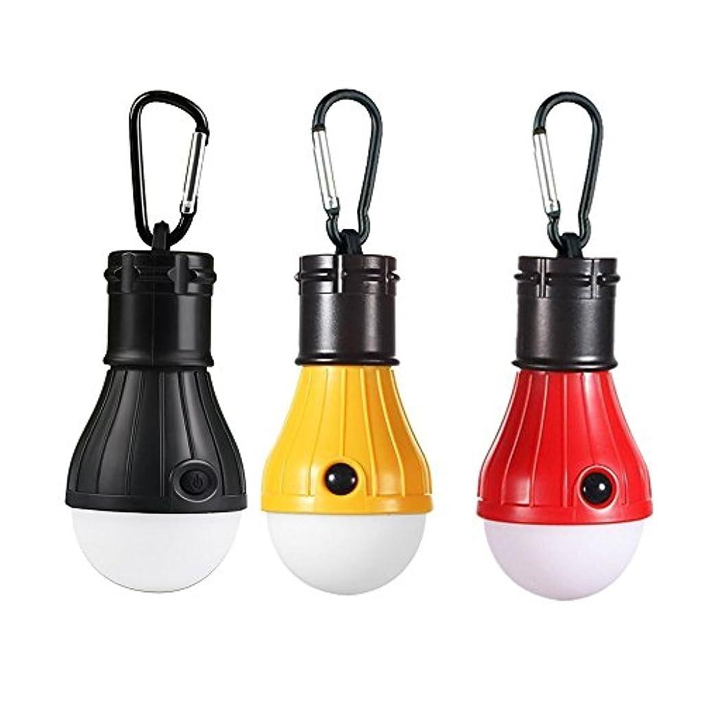 湖勤勉なアッティカスLEDランタン Humilovy アウトドア用 吊り 3 LED 屋外 キャンプ テント ライト 電球 釣り ランタン ポータブル 懐中電灯 釣り提灯