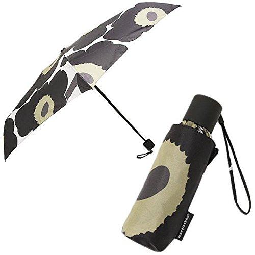 リメッコ 傘 MARIMEKKO 038654 030 ピエニ ウニッコ PIENI UNIKKO MINI MANUAL 折り畳み傘 WHITE/BLACK [並行輸入品]