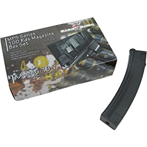 KING ARMS MP5 100R Magazine Box Set - 5pcs