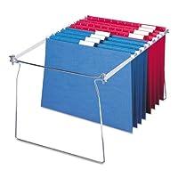 Wholesale CASE of 20–Smead Hangingファイルフォルダframes-hangingフォルダフレーム、手紙、2/ PK、スチール/グレー