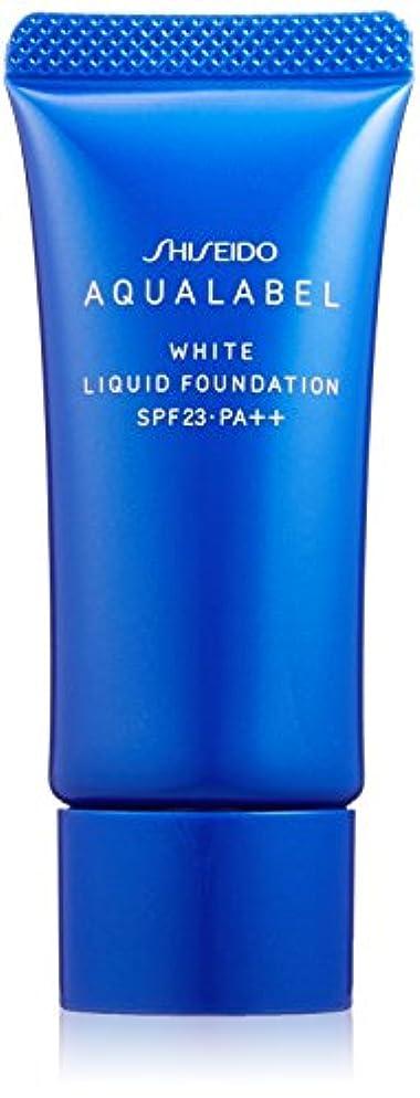 呼吸する蒸気判定アクアレーベル 美白リキッド オークル20 (SPF23?PA++) 25g