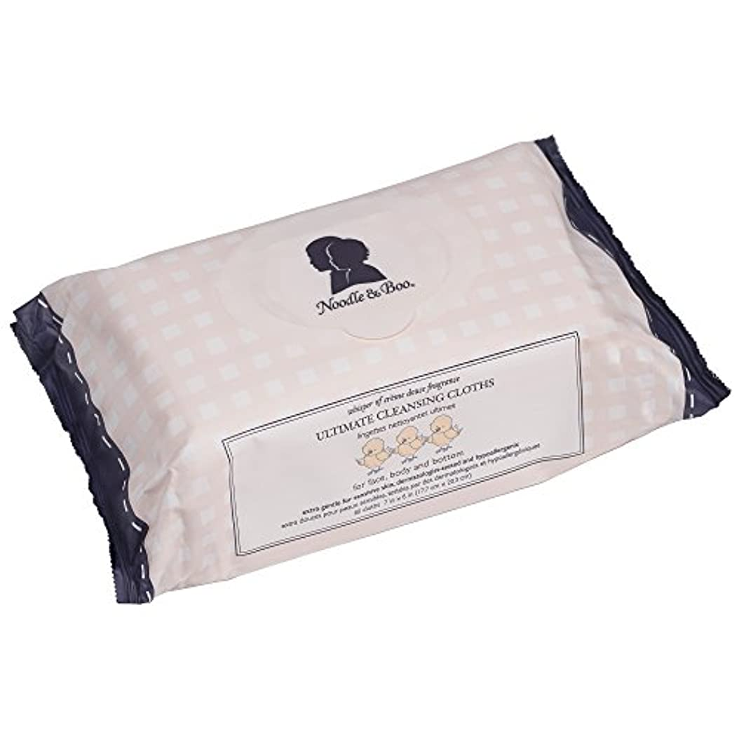 大人バーター疑い者ヌードル&ブー Ultimate Cleansing Cloths - For Face, Body & Bottom - 7