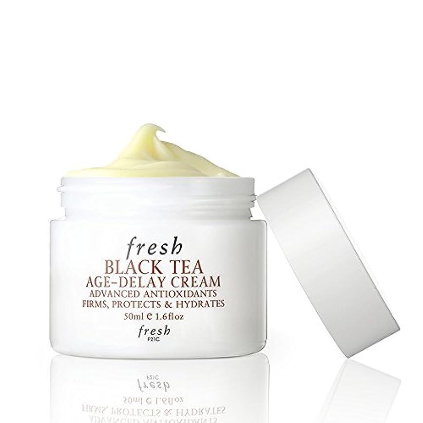 サンプル日光詐欺フレッシュ Black Tea Age-Delay Cream 50ml [海外直送品]