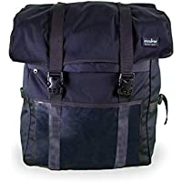 Insular Heavy Duty Multipurpose Delivery Backpack (Black) - Commercial Quality Grade | Expandable | Stain & Water Proof | E-Commerce, Catering, Food & Grocery Delivery