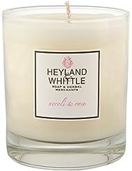 Heyland&削るのネロリとローズキャンドル (Heyland & Whittle) - Heyland & Whittle Neroli and Rose Candle [並行輸入品]