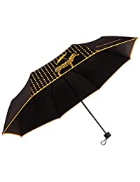 イエロー夏女性用パラソルZebraスタイルSunny Rainy ultraviolet-proof雨傘