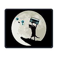 (マウスパッド)ゲーミングマウスパッド、オオカミの月専門家のコンピュータゲームのマウスパッドi番目のステッチ縫いのエッジPM0926948