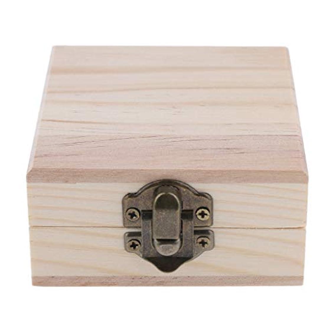 ドループフォーカス愛情深いFLAMEER 天然木 精油ボックス 香水ケース エッセンシャルオイル 2本 収納ボックス 15ミリ