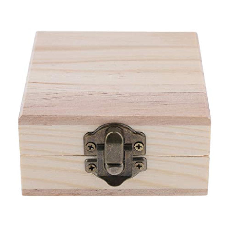 怒る統計的マイルストーンFLAMEER 天然木 精油ボックス 香水ケース エッセンシャルオイル 2本 収納ボックス 15ミリ