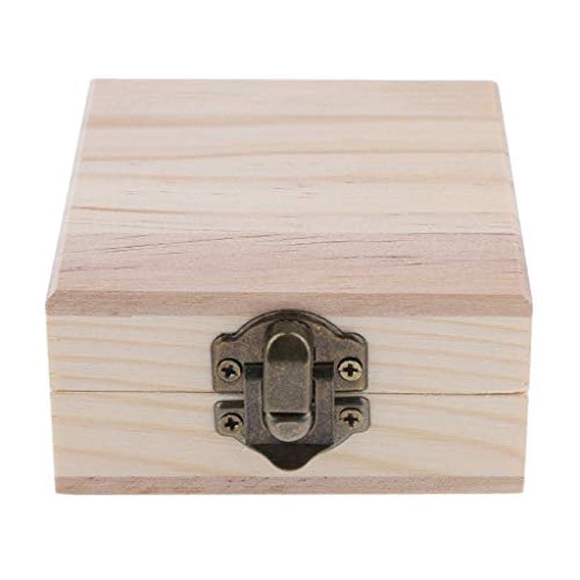 征服しおれた期待するFLAMEER 天然木 精油ボックス 香水ケース エッセンシャルオイル 2本 収納ボックス 15ミリ