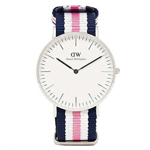 (ダニエルウェリントン) Daniel Wellington 腕時計 メンズ/レディース 0605DW ベルト36 CLASSIC クラシック SOUTHAMPTON/SILVER[並行輸入品]