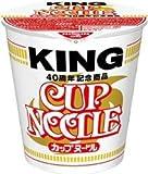 日清 カップヌードル キング KING 1ケース(12個)