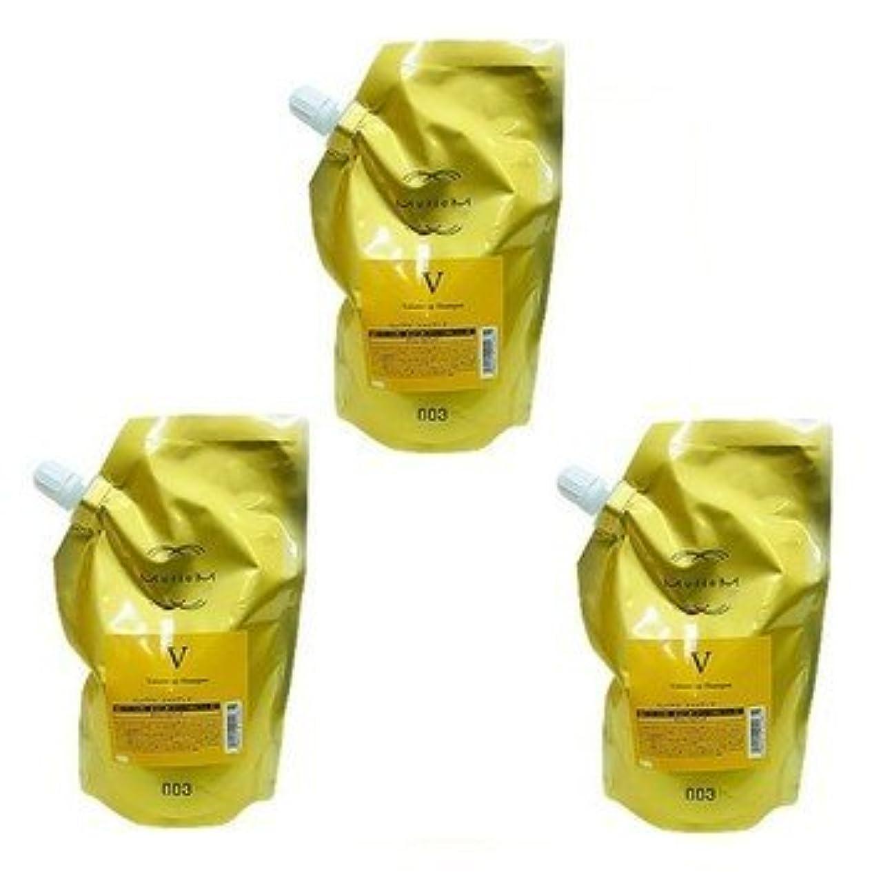 三十確立弱い【X3個セット】 ナンバースリー ミュリアム ゴールド シャンプー V 500ml 詰替え用