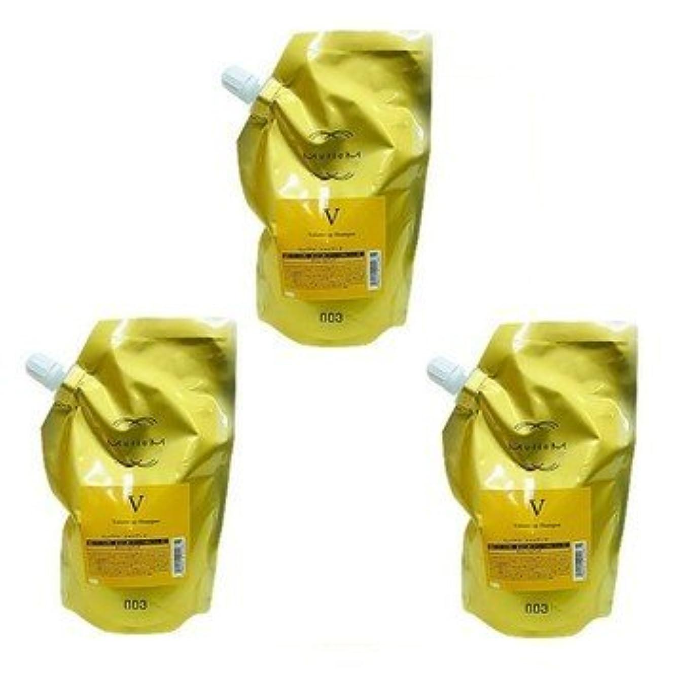 祭司火山下【X3個セット】 ナンバースリー ミュリアム ゴールド シャンプー V 500ml 詰替え用