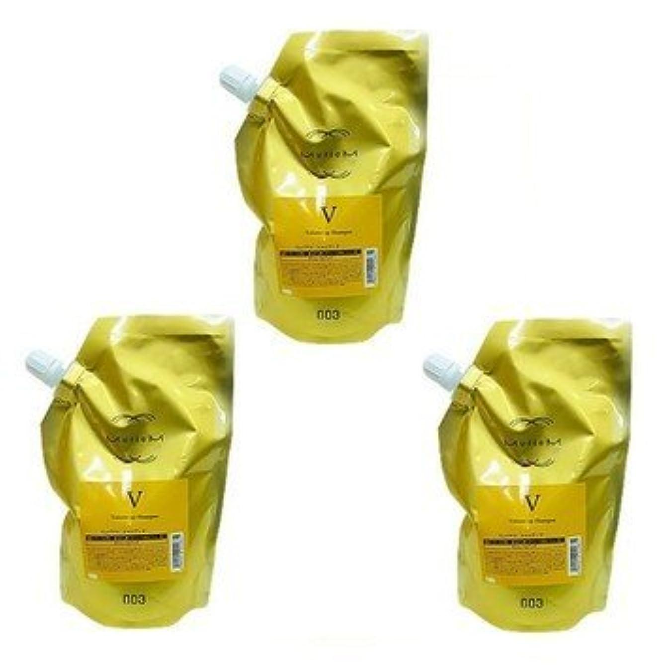 いたずらな遠足胆嚢【X3個セット】 ナンバースリー ミュリアム ゴールド シャンプー V 500ml 詰替え用