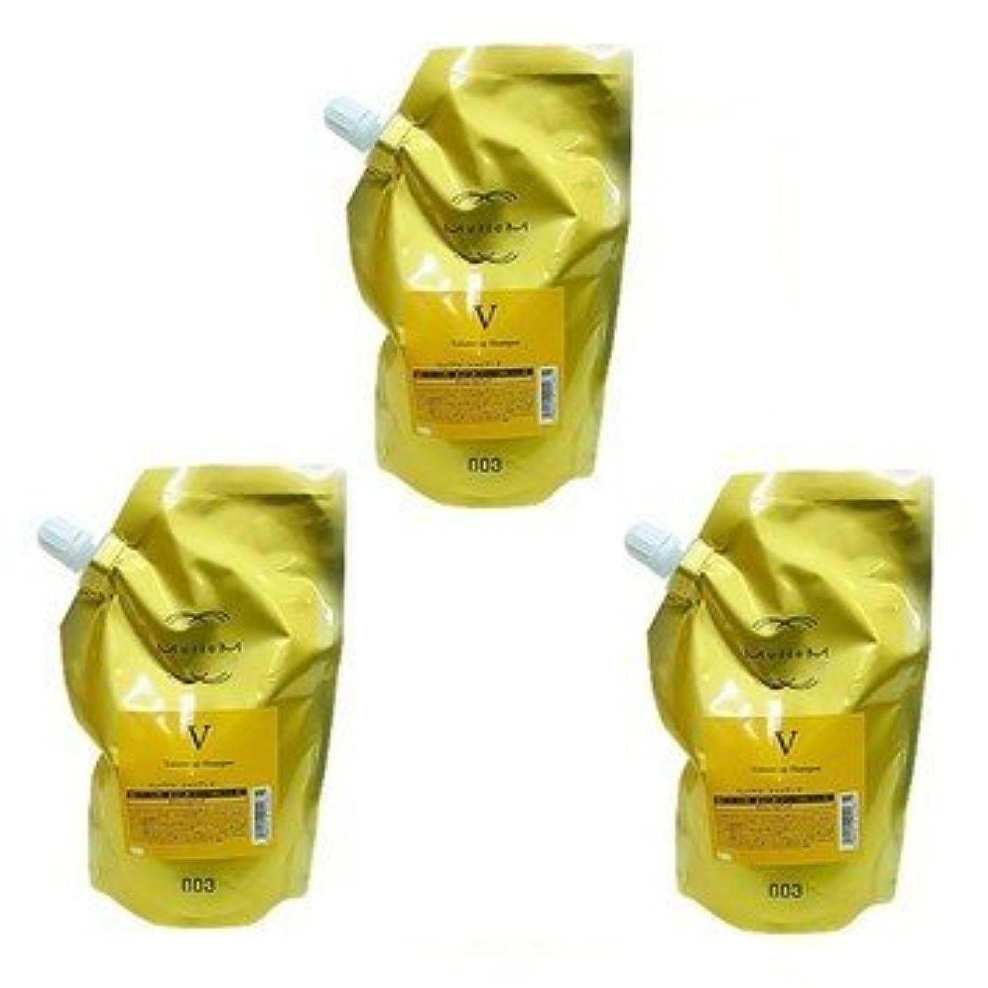 ピット知り合いになるリゾート【X3個セット】 ナンバースリー ミュリアム ゴールド シャンプー V 500ml 詰替え用