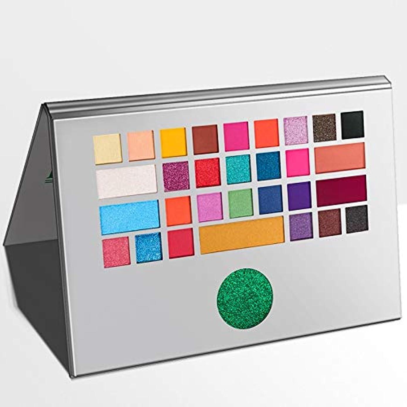 フェッチ通貨装置新しいアイシャドウパレット31色ラップトップデザインアイシャドウメイクアップパレットアイシャドウパレットラップトップパレット (Color : 31 color)